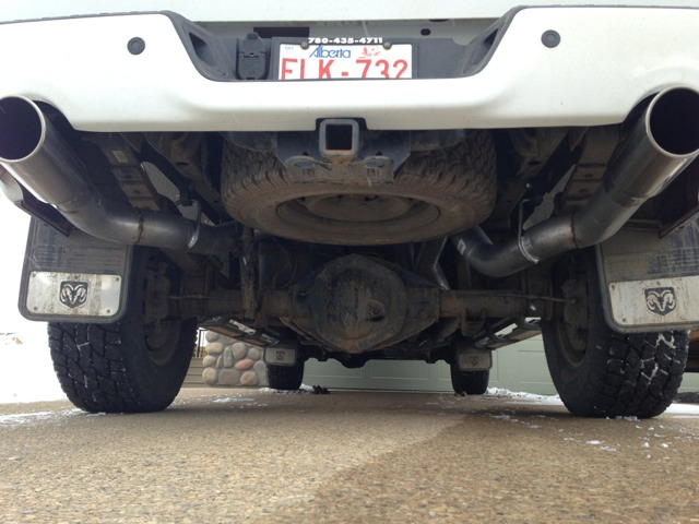 Finally Fabbed Up The Dual Exhaust Imageuploadedbytapatalk1363478771743163: 2004 Dodge Ram 2500 Dual Exhaust At Woreks.co