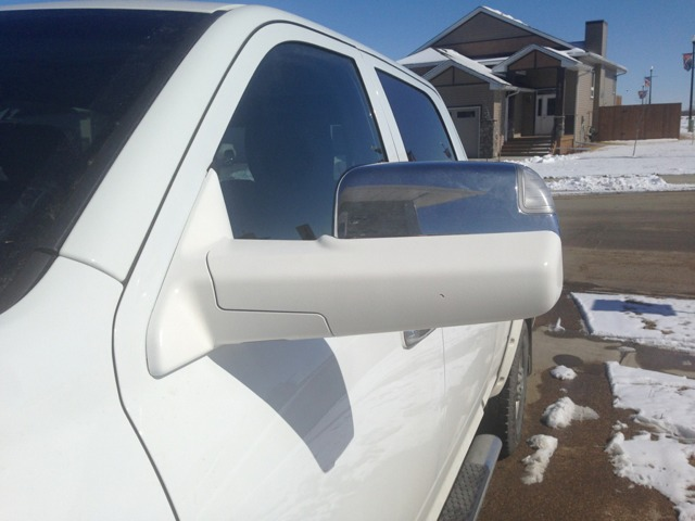 Plasti Dipped Chrome Tow Mirrors Pics Page 2 Dodge