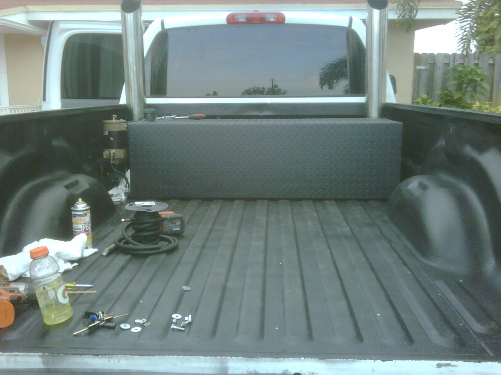 Spray Bed Liner >> Dupli-Color Roll on bed liner - Dodge Cummins Diesel Forum