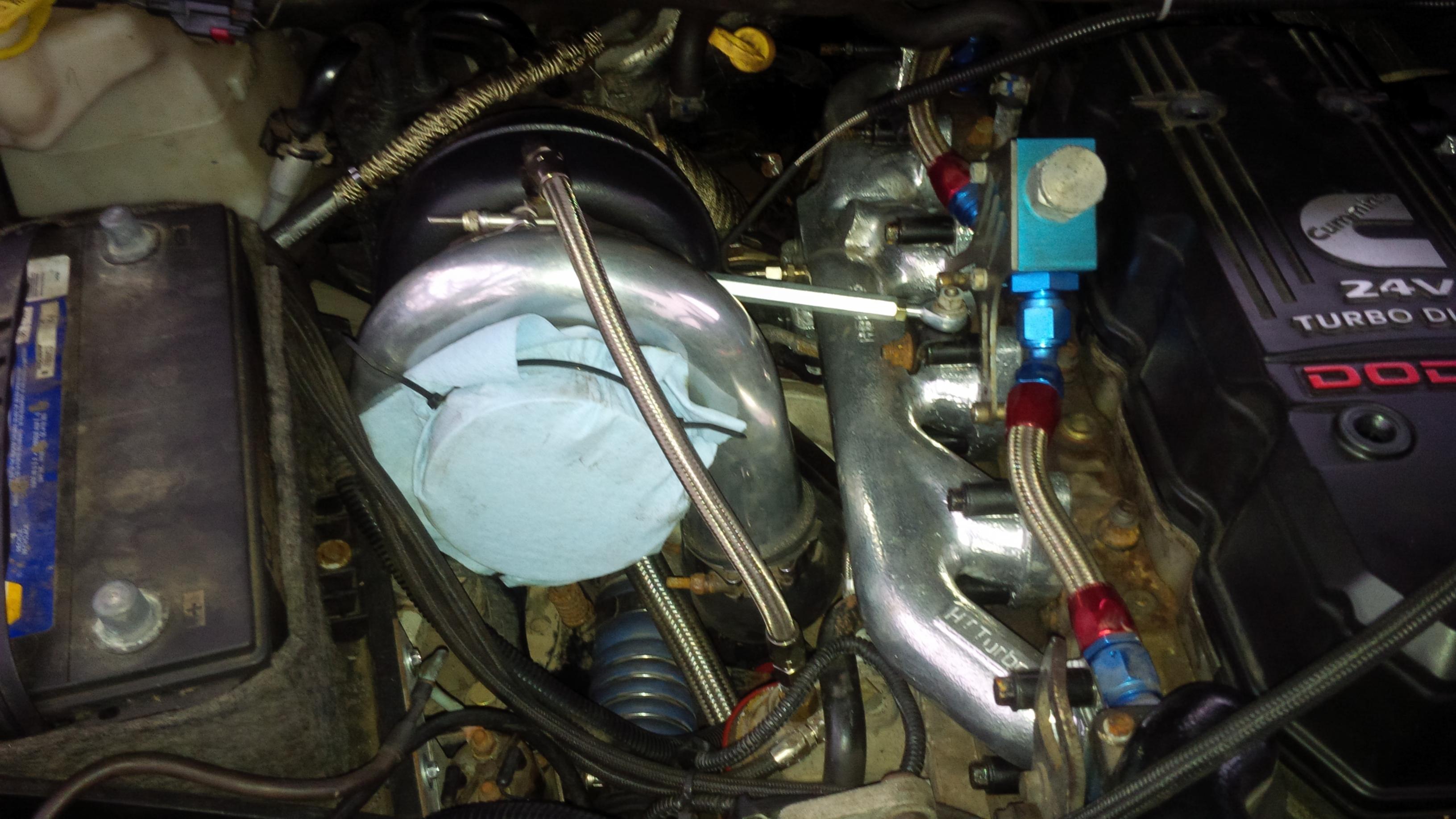 Turbo Diesel Register >> 3rd gen twin turbos, dual cp3 pics! - Page 7 - Dodge Cummins Diesel Forum