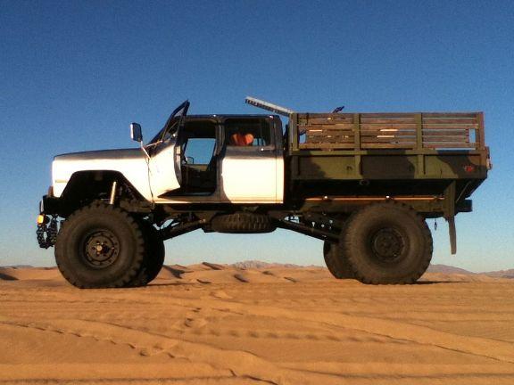 Street Legal Monster Truck Built From Military Truck Pics Dodge