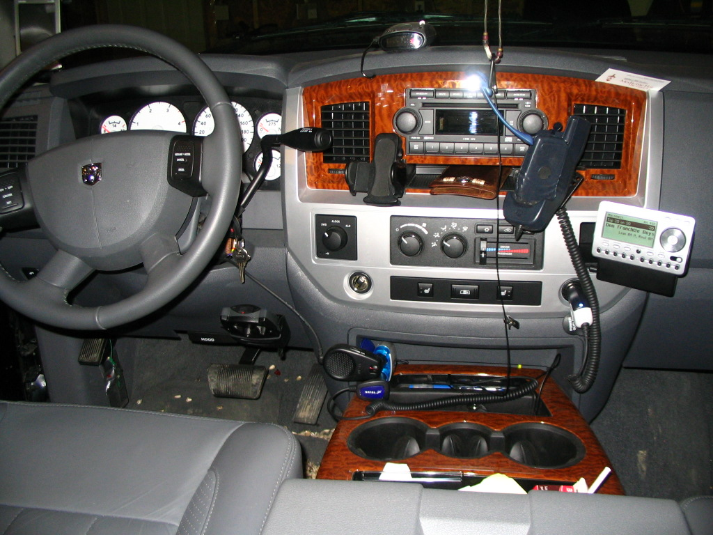 place to mount brake controller in an 06 Dodge Cummins