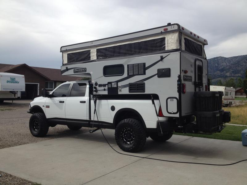 Truck Camper Pics On Your 4th Generation Ram Page 5