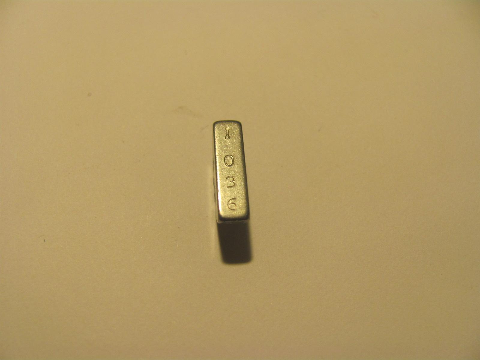 vp44 woodruff key identification