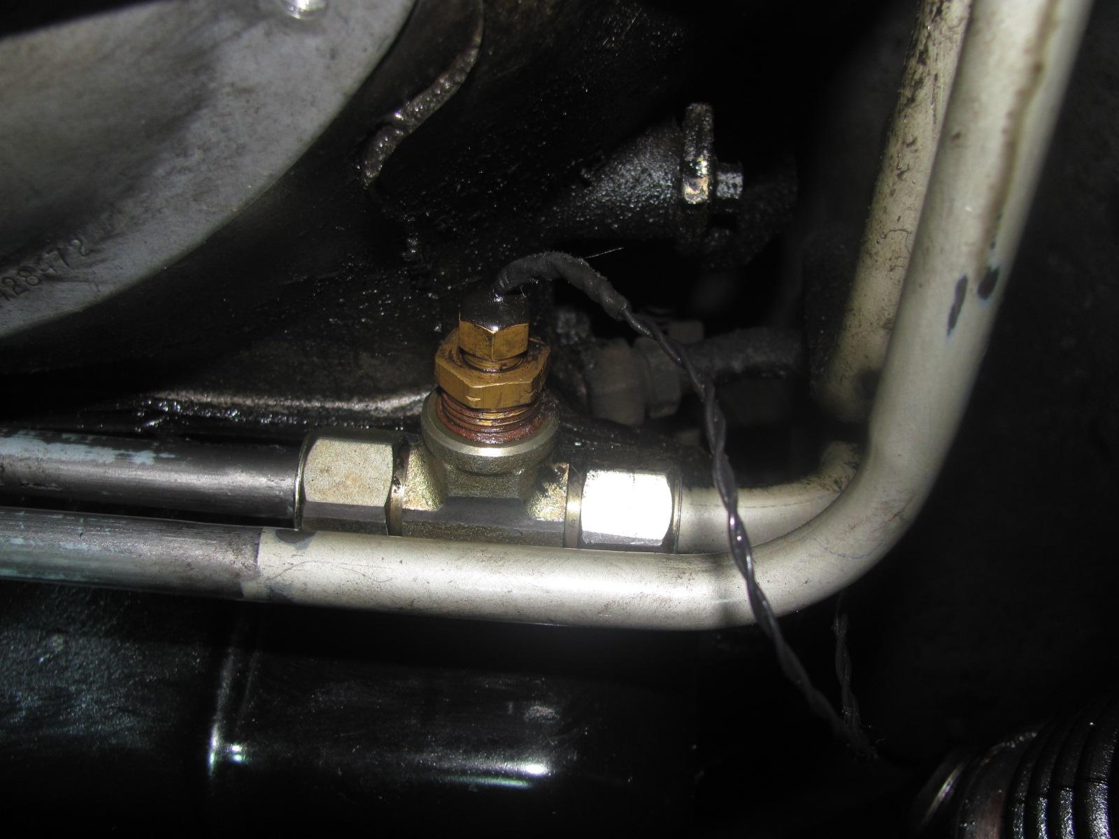 D Transmission Cooler Lines Identification Img on 02 Dodge 3500 4x4
