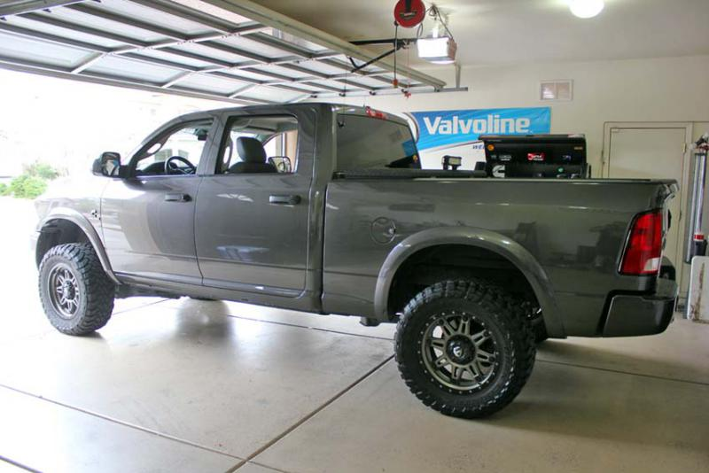 Thuren suspension and 35s fit in garage? - Page 2 - Dodge ...