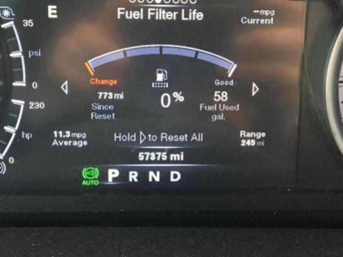 Premature fuel filter notification - Dodge Cummins Diesel ...