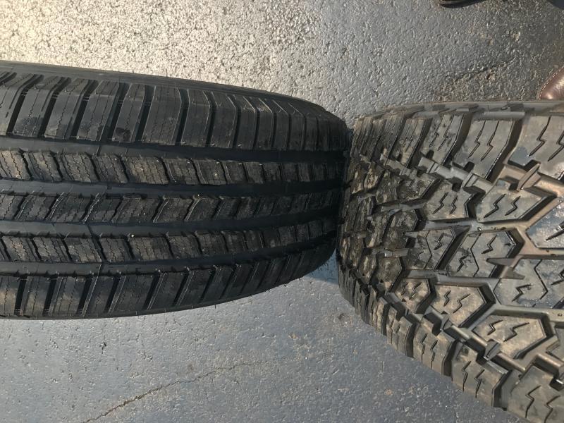 Michelin Defender Vs Nitto Terra Grappler G2 Dodge