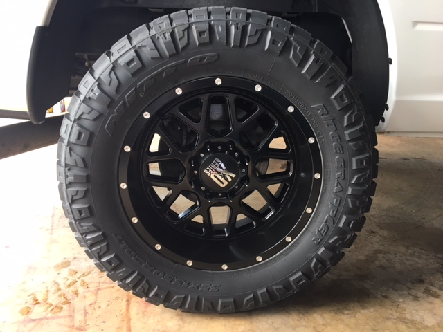getting new nitto ridge grapplers today page 2