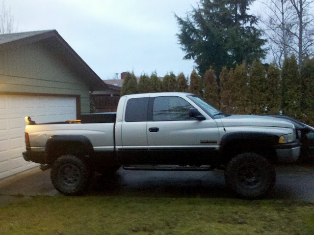 Blacked out trucks with rhino lined rocker panels page 2 dodge