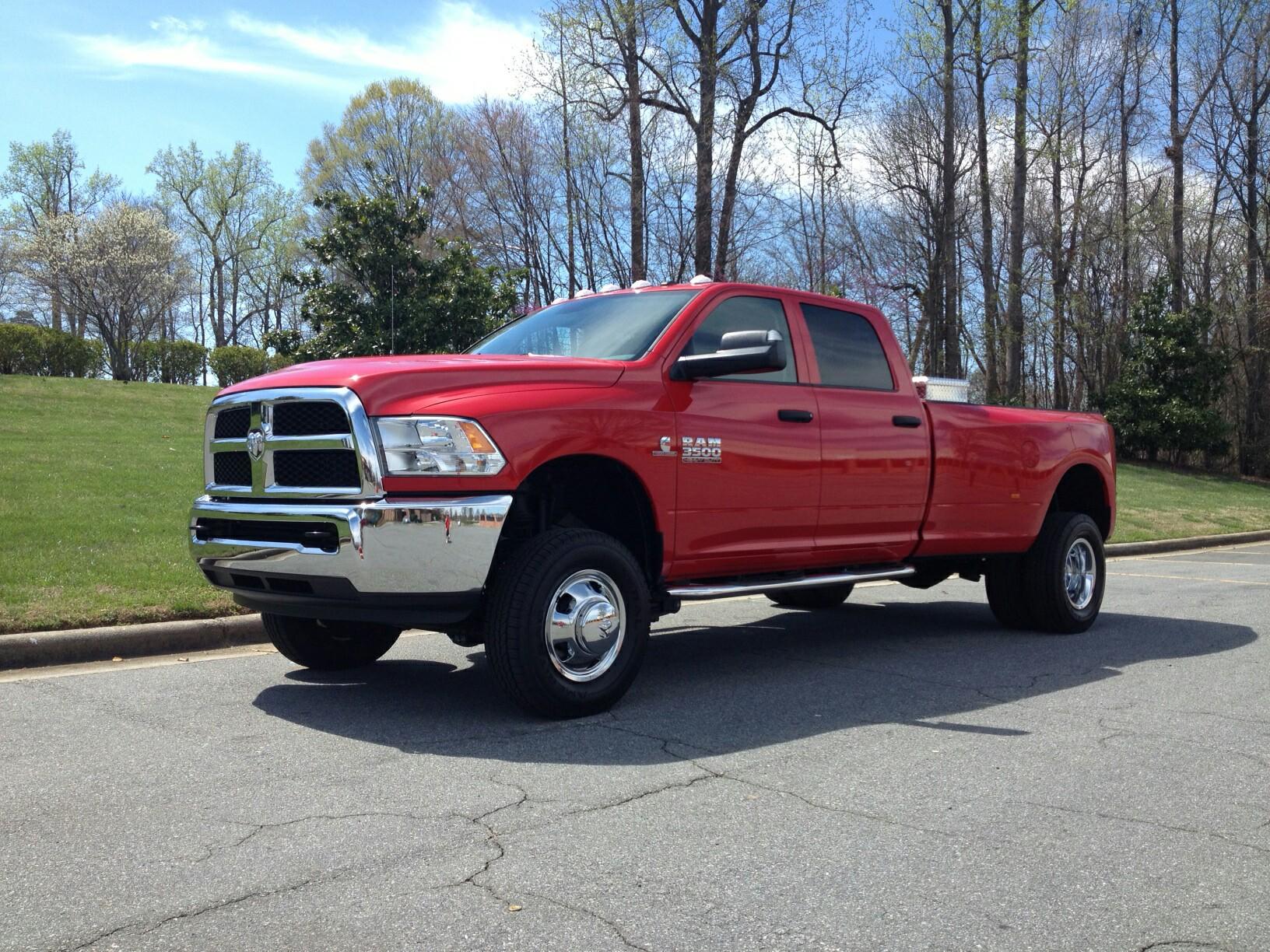 My new lifted 14 3500 DRW Dodge Cummins Diesel Forum