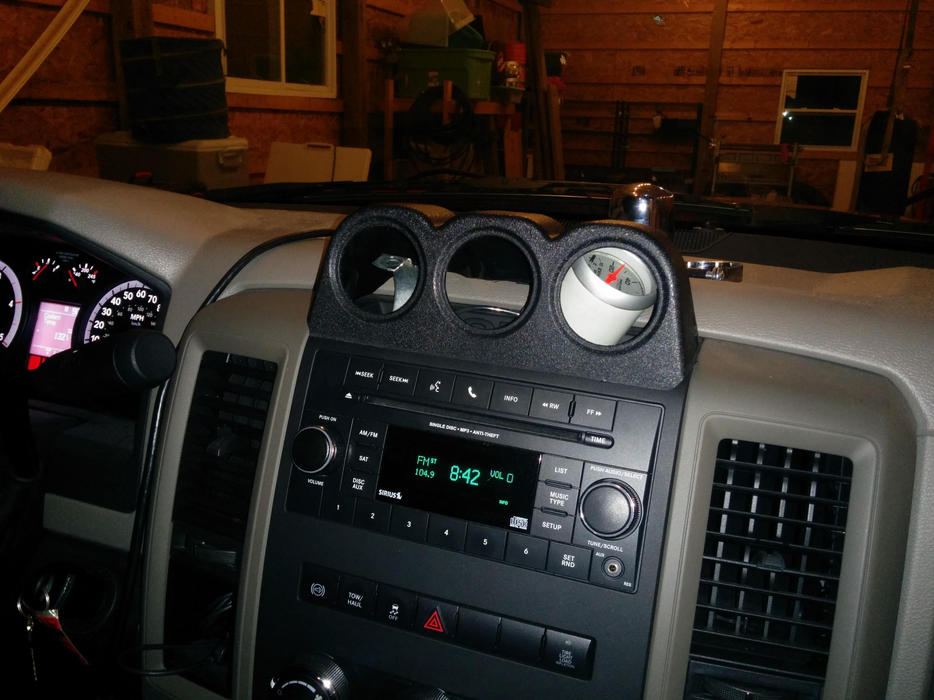 2010 Gauge Pods Page 7 Dodge Cummins Diesel Forum