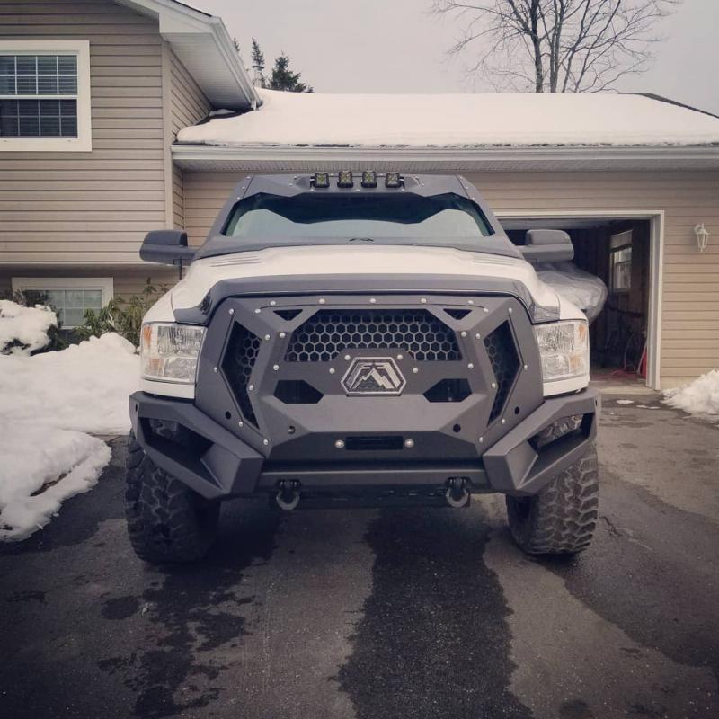 Dodge Ram 1500 Diesel >> Blacked Out 2016 Ram 2500 with Grumper - Dodge Cummins ...