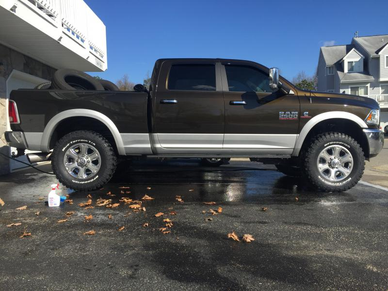 2015 Ram 1500 Leveling Kit >> my 2014 with a leveling kit and 37s - Dodge Cummins Diesel ...