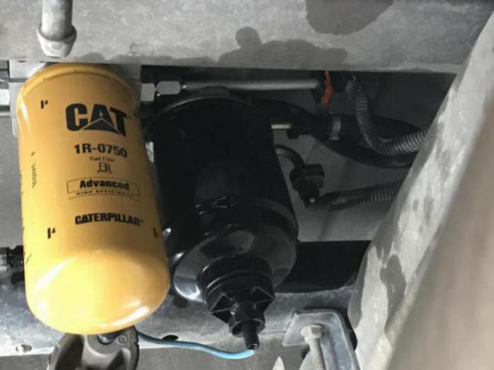Installed The 2 Micron Cat Filter From Diesel Fuel Filter