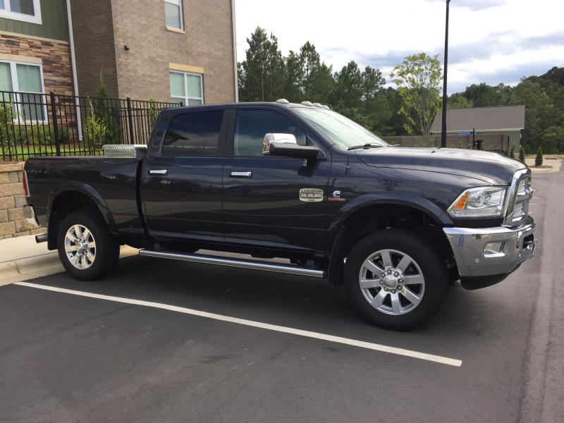 2017 Ram 2500 Leveling Kit >> Installed A 1 Inch Leveling Kit Dodge Cummins Diesel Forum
