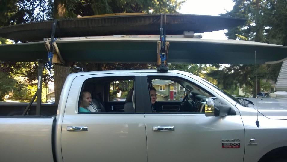 D Anyone Know Good Kayak Rack Our Trucks Kayak Rack on Dodge Ram 2500 Roof Rack