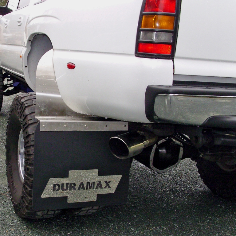Mudflaps/Splash Guards For Dually