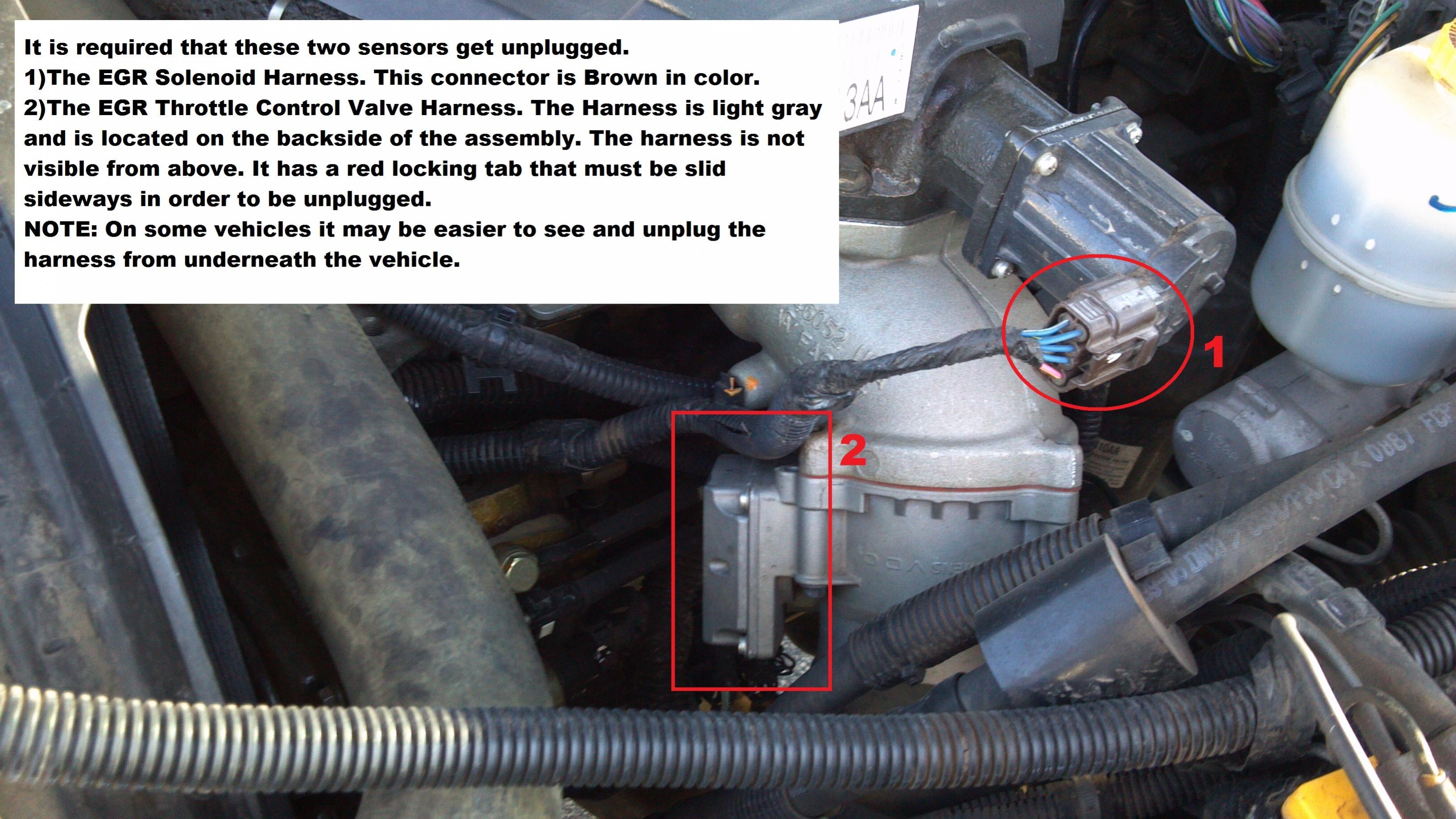 D Installing Xrt Map Sensor on Black Dodge Ram 2500