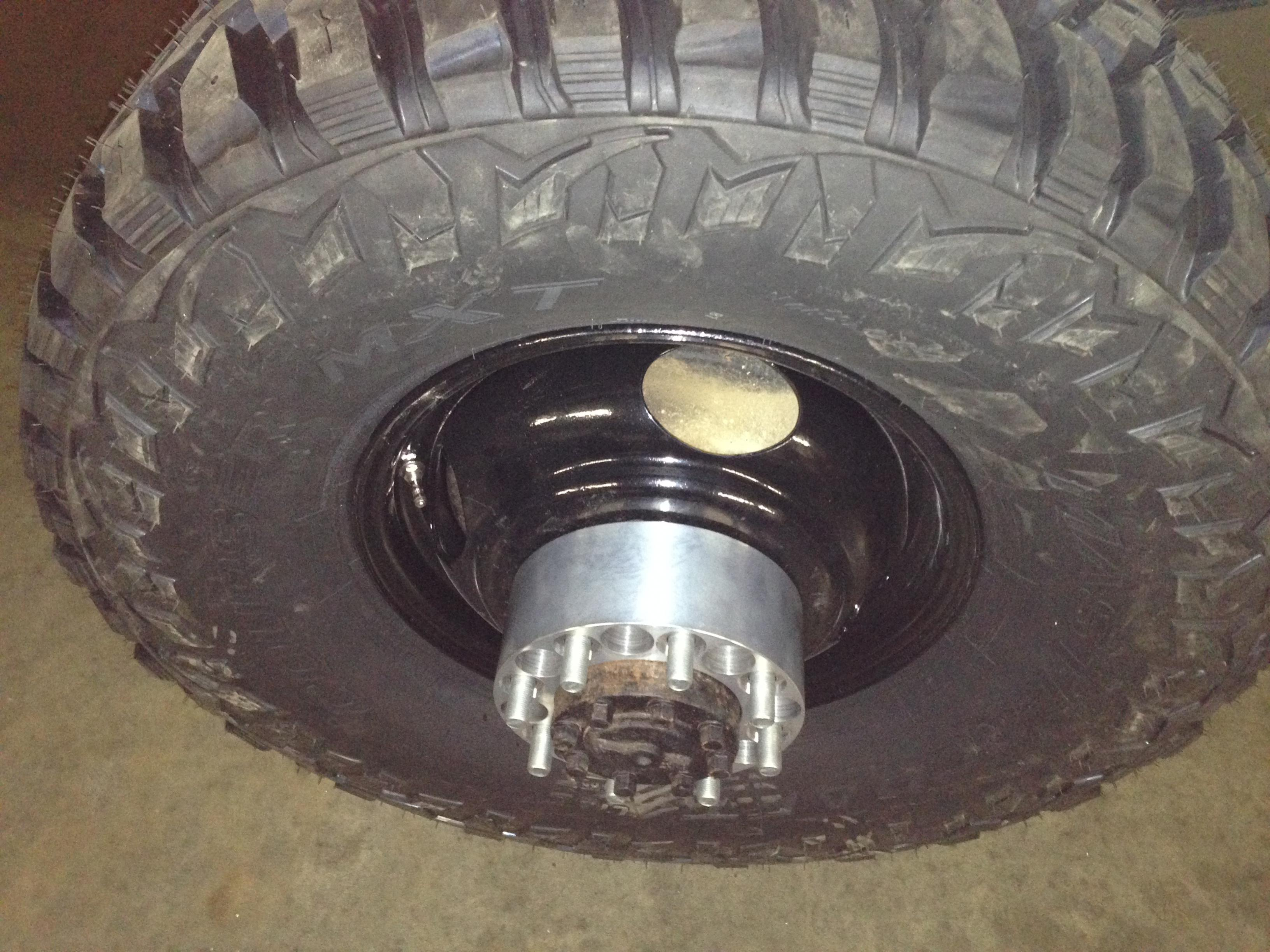 Rear wheels spacers for coined factory wheels - Dodge ...