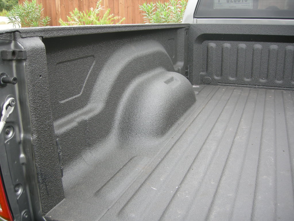 Spray In Bedliner Over Or Under Rail Dodge Cummins