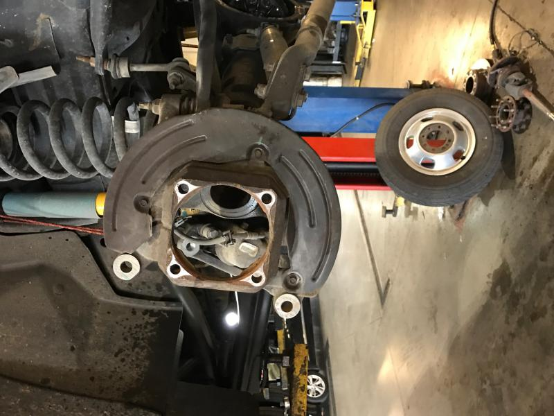 D Alignment Issues Newfrontaxlesealsforradioflyer on 4th Gen Ram 2500 Flatbed