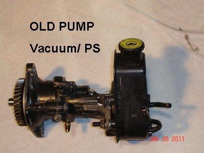D Valve Power Steering Pump Help Old Pump