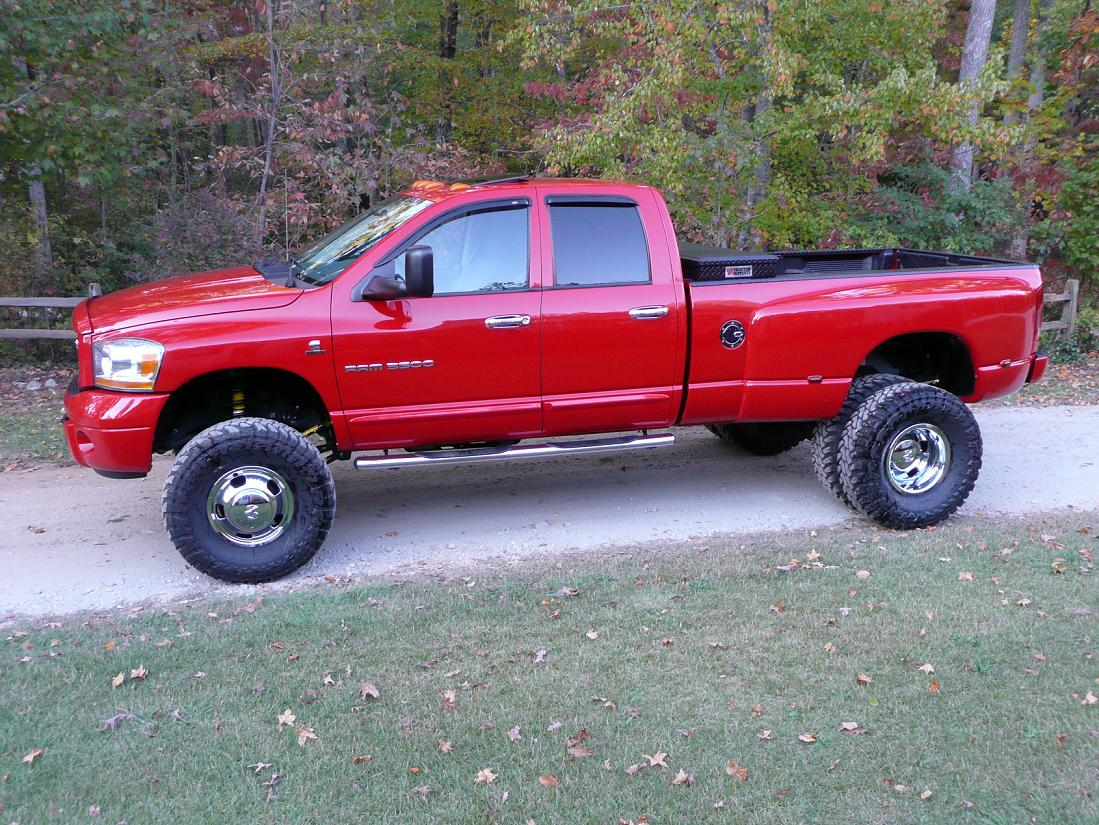 2005 Dodge Ram 3500 Dually >> Max dually tire size? - Dodge Cummins Diesel Forum