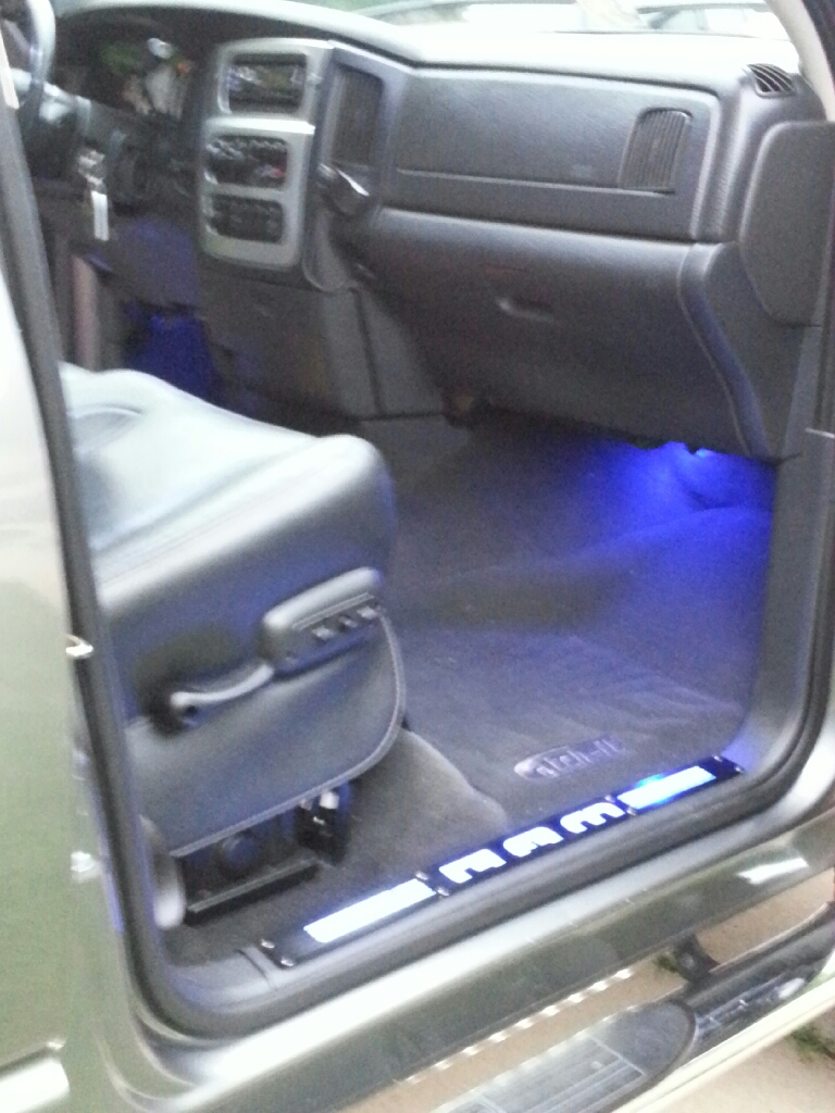 D Adding Led Lights Cargo Lamp Switch Passenger Footwell on Light Switch