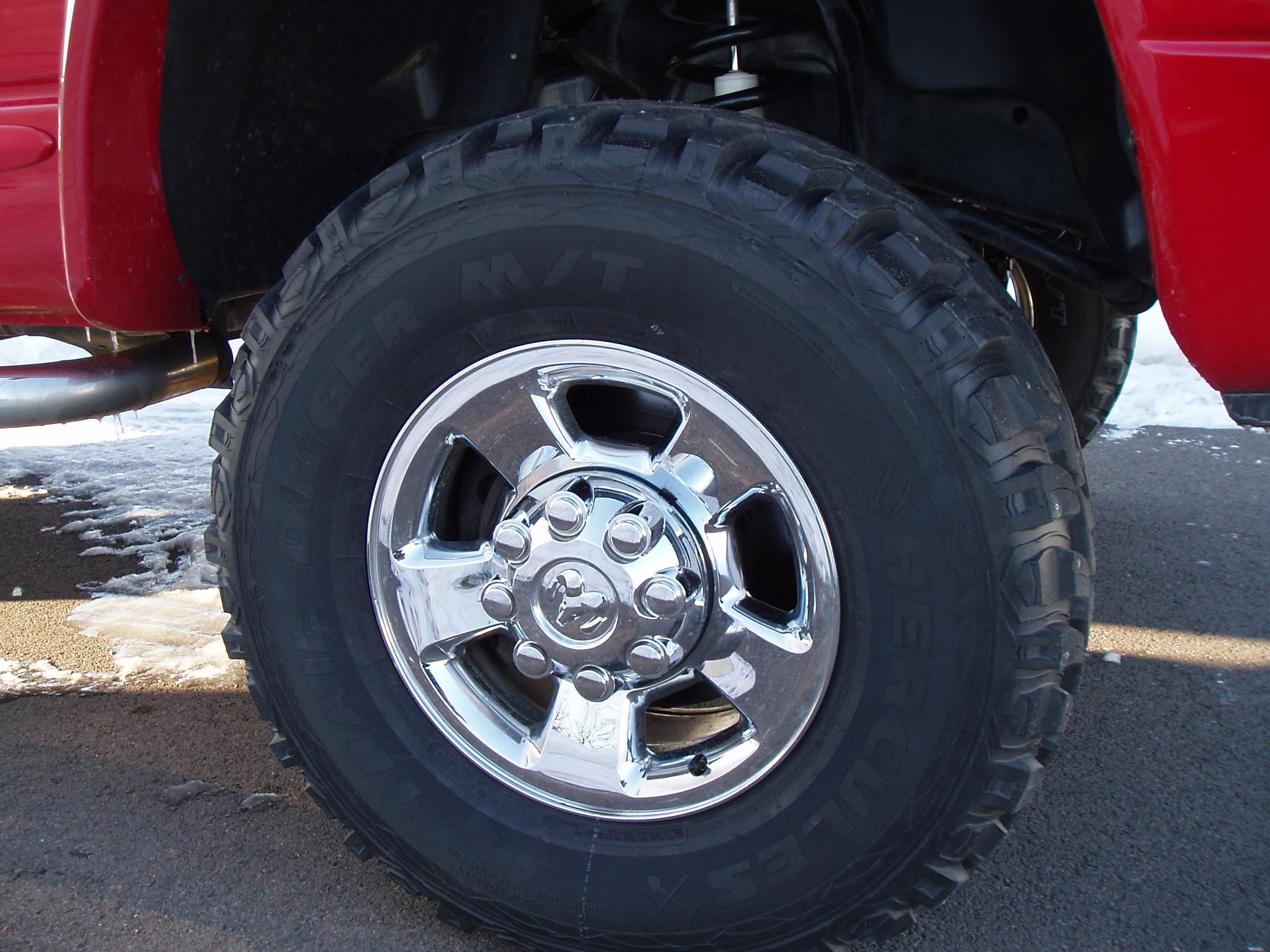 """35"""" studded snow tires Dodge Cummins Diesel Forum"""