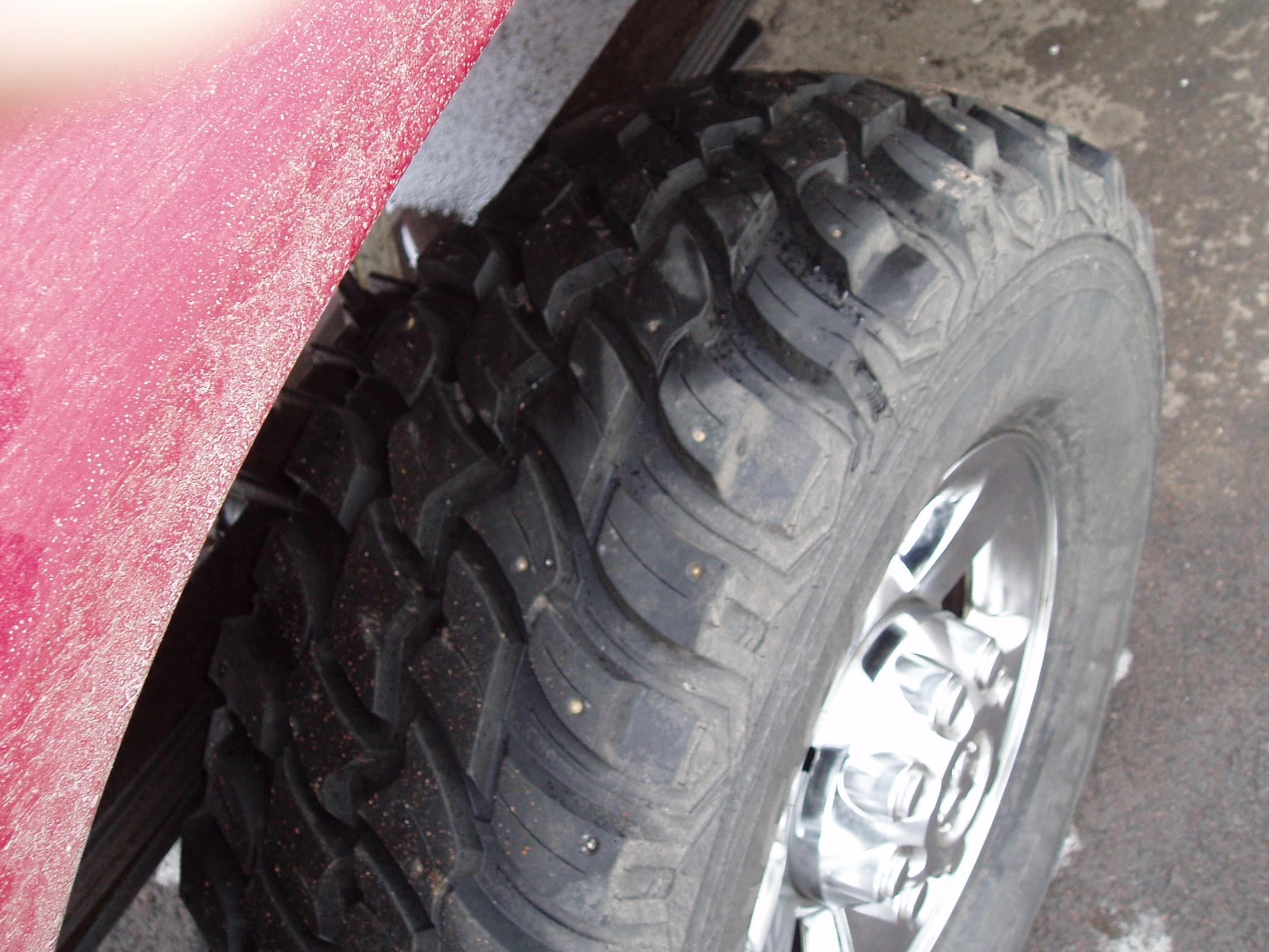 """22 Inch Tires >> 35"""" studded snow tires? - Dodge Cummins Diesel Forum"""