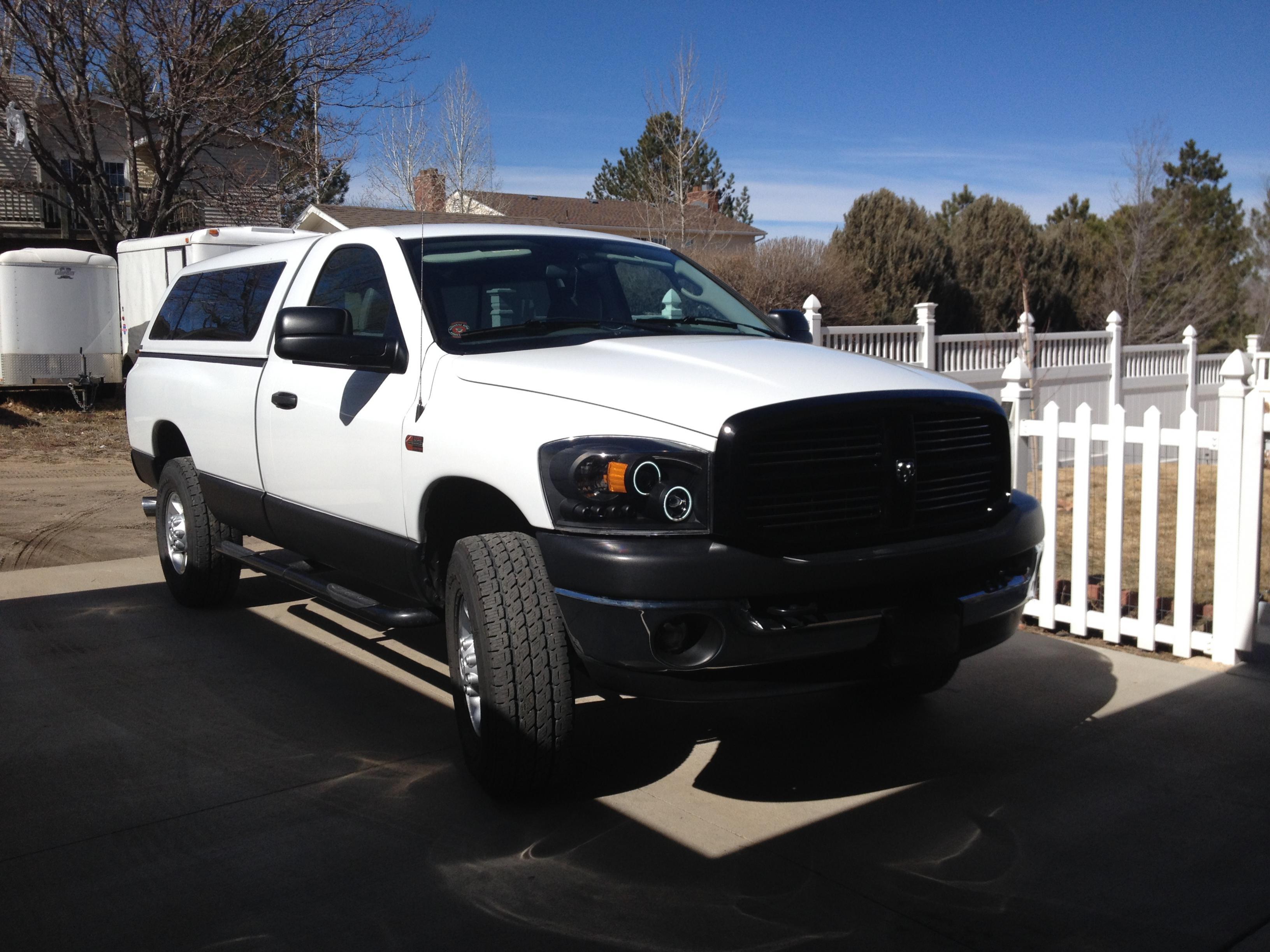 Dodge Ram 1500 Tires >> Aftermarket Black/Smoked Headlights That Fit W/Diesel ...