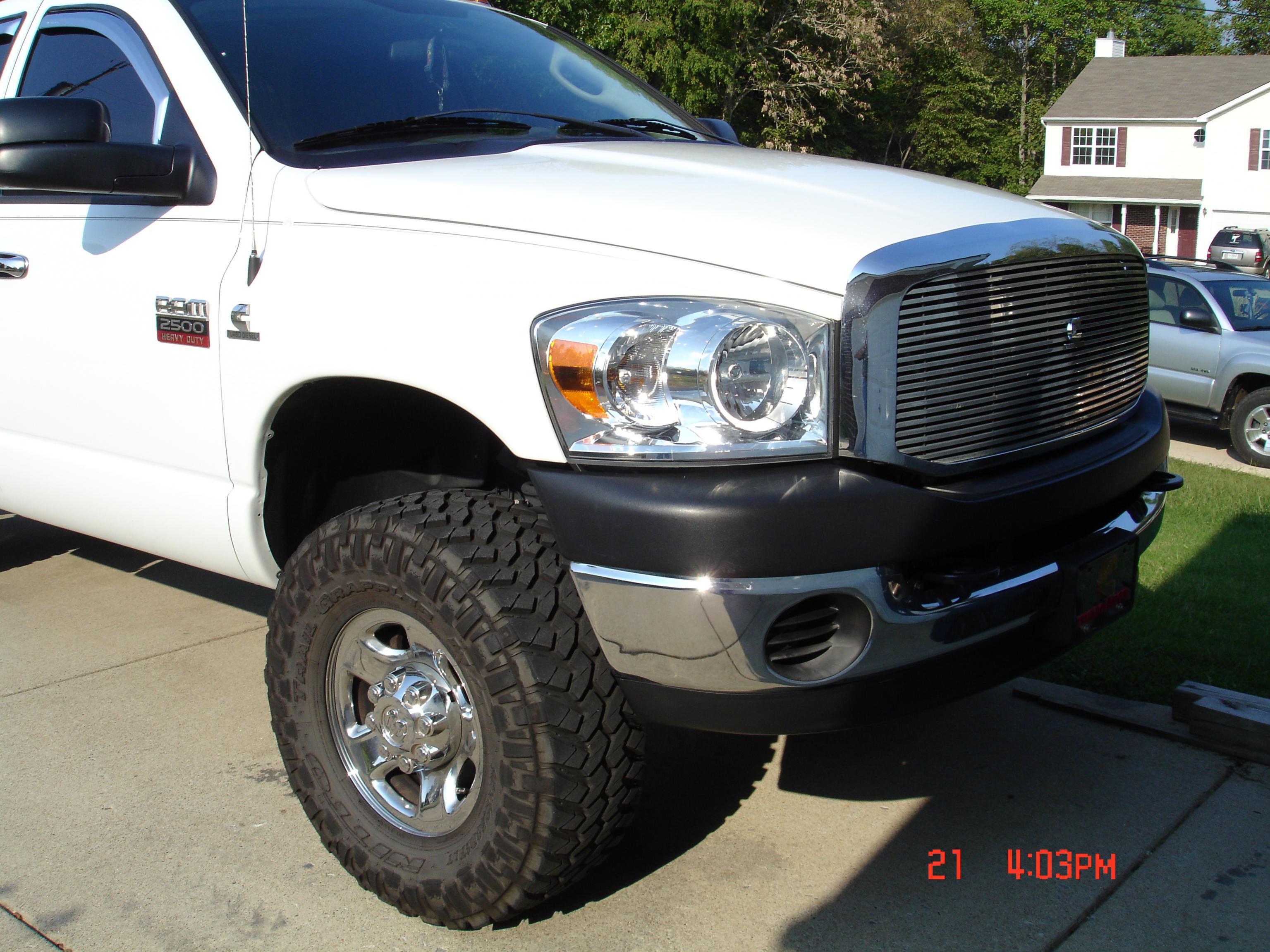 33s Or 35s On Stock Wheels Page 2 Dodge Cummins Diesel