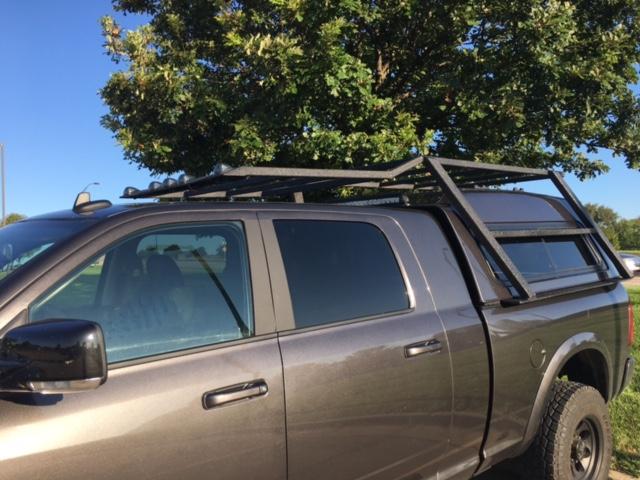 Roof Rack Headache Rack Camper Shell Ideas Dodge