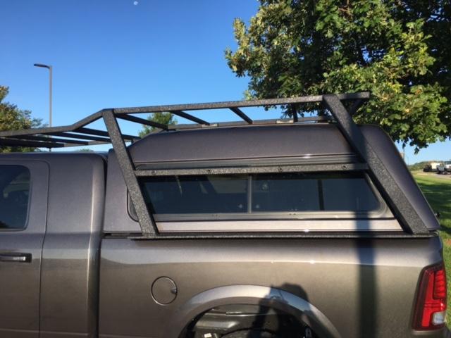 Roof rack / headache rack / camper shell ideas  - Dodge Cummins