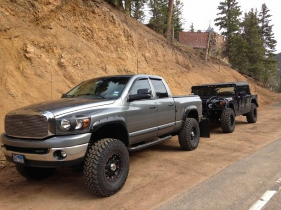D Mineral Grey Trucks Ram Towing H Castle on 2006 Dodge 3500 Truck