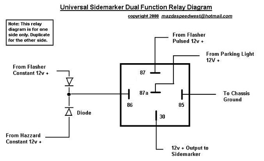 4 Pole Relay Wiring Diagram