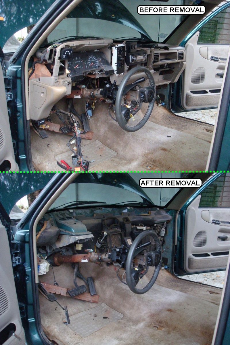Removing Dashboard - Replacing Evaporator 1995 2500-removalcomp.jpg