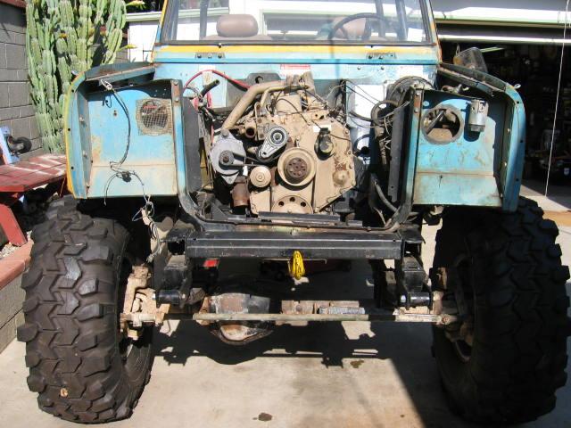 4bt and nv4500 wrangler jeep swap underway dodge cummins diesel