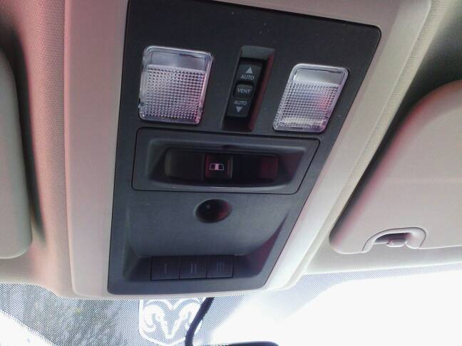How Do You Remove The Overhead Console Dodge Cummins