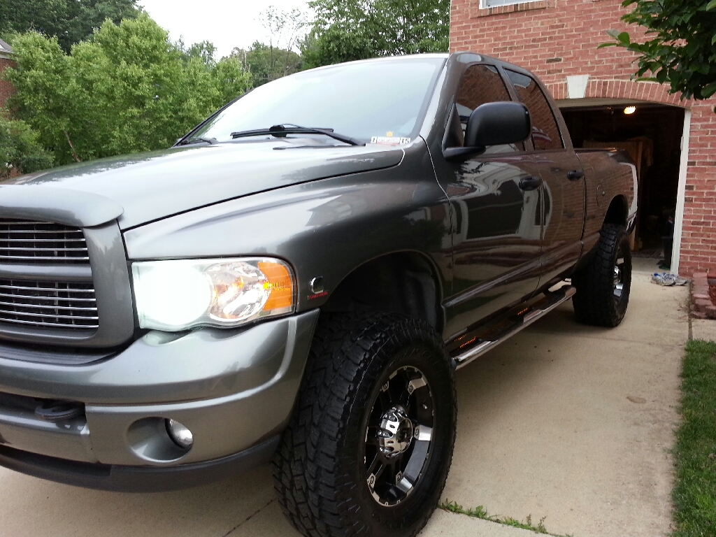 D Toyo Open Country Atii Extreme Wax on 2006 Dodge 3500 Truck