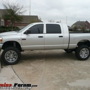 2007 Mega Cab Lifted
