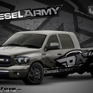 Diesel Army's Project Mega Cab Long Bed Heavy Hauler