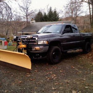 truck and plow