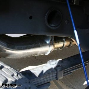 "Silverline 5"" exhausts system replaces muffler"