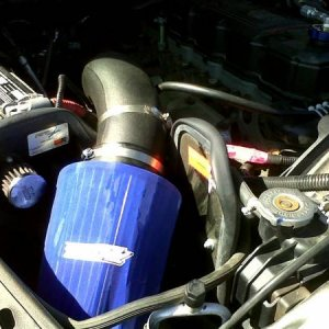 K&N Cold Air Intake with Amsoil Air Filter